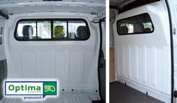 Les séparations cabines pour véhicules utilitaires, votre sécurité et celle de vos collaborateurs au cœur de nos préoccupations