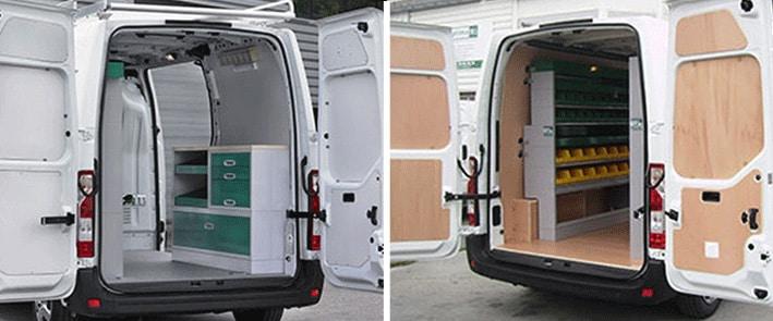 Plancher et habillage bois pour véhicule utilitaire # Habillage Utilitaire Bois