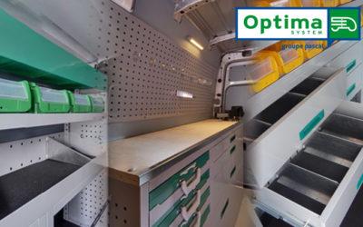 Découvrez l'aménagement de votre futur véhicule utilitaire avec OPTIMA System