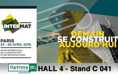 OPTIMA System vous attend du 23 au 28 avril au salon INTERMAT 2018