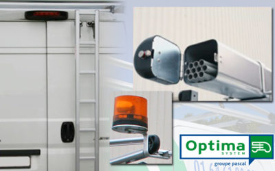 Découvrez les accessoires de la nouvelle gamme de galeries OptiRack pour véhicules utilitaires