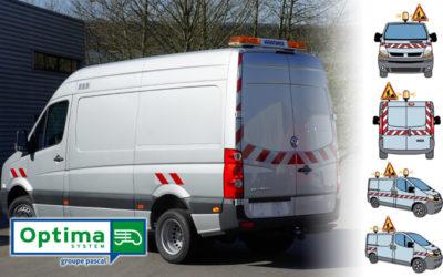 OPTIMA System, pour une visibilité optimale de votre véhicule utilitaire en intervention