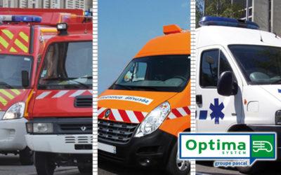 OPTIMA System sécurise vos véhicules utilitaires en intervention, moteur tournant