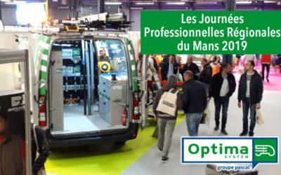 OPTIMA System au Mans pour les Journées Professionnelles Régionales 2019 !