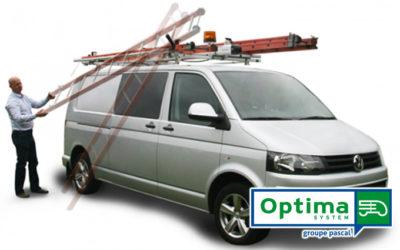 Chargez votre échelle sur le toit de votre véhicule utilitaire, sans avoir à y monter !