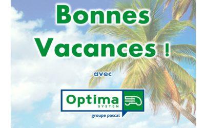 Des vacances d'été en toute sérénité grâce à Optima System !