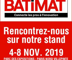 Optima System participe au Salon BATIMAT du 4 au 8 novembre prochain !